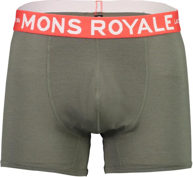 Mons Royale M's Hold 'em Shorty Boxer Olive